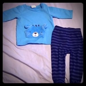 Bon bebe cat matching set